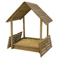 Hrací domek s pískovištěm MONIKA