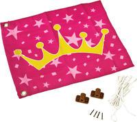 Vlajka textilní - motiv Princezna vč. kování a lan