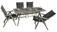 stůl obdélníkový pevný MONTANA grey wash NOVINKA 2
