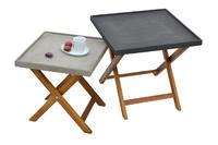 odkládací stolek AMY tmavě šedá malý NOVINKA 2018