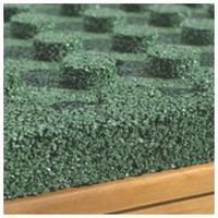DLAŽDICE gumová š/v/d: 500/40/500 mm zelená