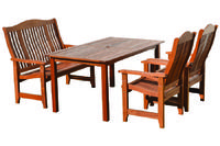Stůl obdélník NASHVILLE (PEFC)