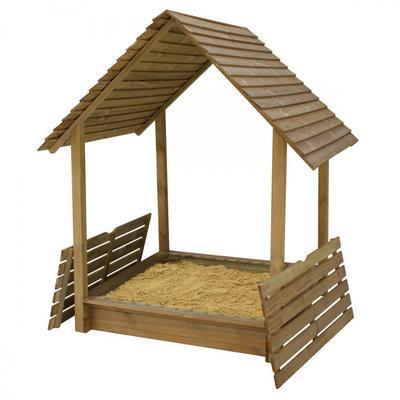 Hrací domek s pískovištěm MONIKA - 1