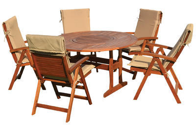 MALAGA stůl kulatý