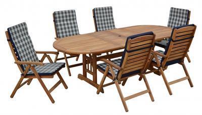 Stůl oválný rozkládací TBA 3-45 EDINBURGH FR
