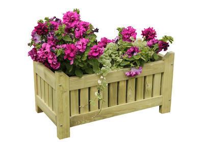 AOSTA květináč 750x370x400 mm vč. agrotextilie