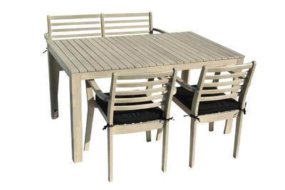 Stůl obdélníkový CHESTERFIELD grey wash NOVINKA 20 - 1