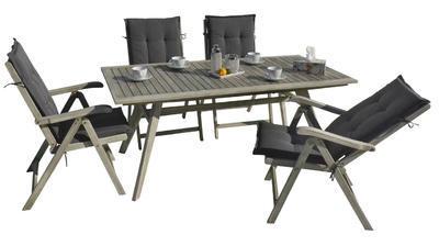 stůl obdélníkový pevný MONTANA grey wash NOVINKA 2 - 1