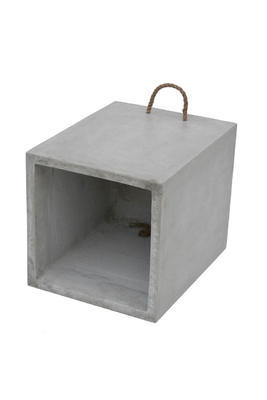 Stolička ADAM tmavě šedá 360x360x440 - 1