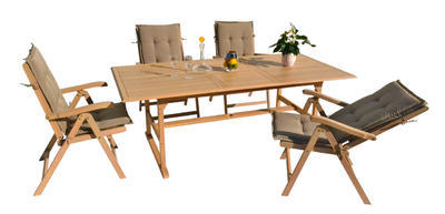 stůl obdélníkový pevný SANTIAGO oak wash NOVINKA 2 - 1