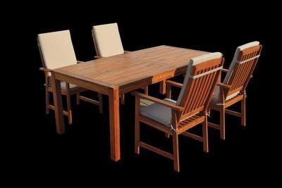 Stůl obdélníkový  ENGLAND (FSC) 2000 x 1000 mm - 1