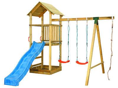 LUCIE multifunkční dětská hrací věž - 2