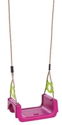 Houpačka rostoucí TRIX s lanem fialovo-zelená lime - 2