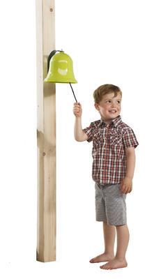 Zvon kovový zelený vč. kování - 2