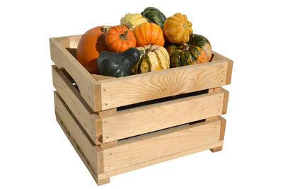 BEDÝNKA masivní na ovoce a zeleninu přírodní  - 2