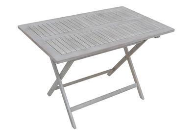 stůl obdélníkový skládací SOFIA grey wash NOVINKA  - 2